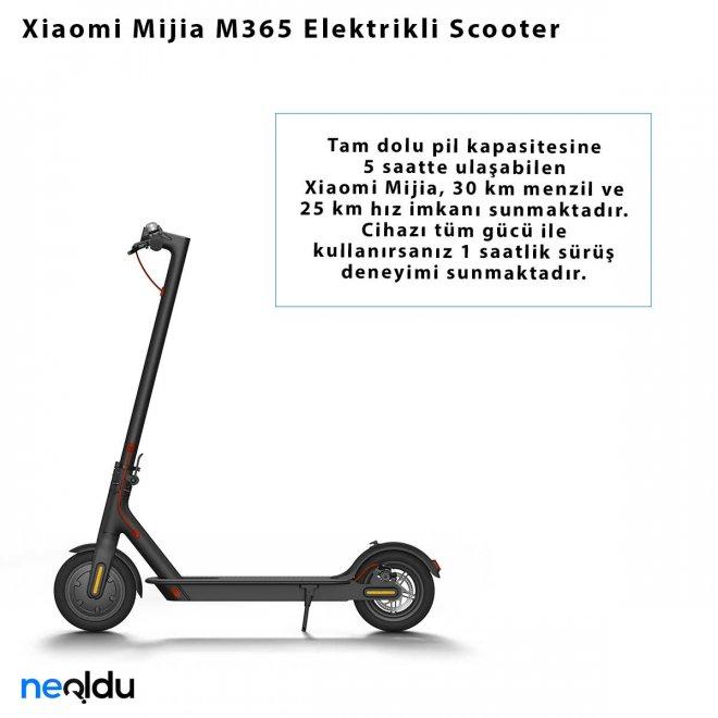 Xiaomi Mijia M365 Elektrikli Scooter