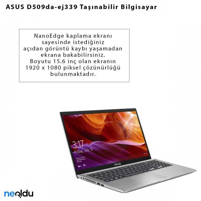 ASUS D509da-ej339 Taşınabilir Bilgisayar