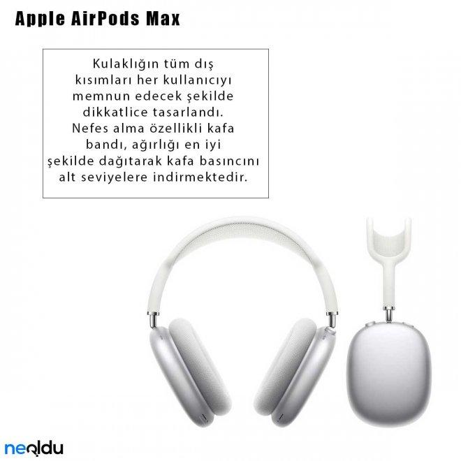 Apple AirPods Max Nefes Alan Kafa Bandı