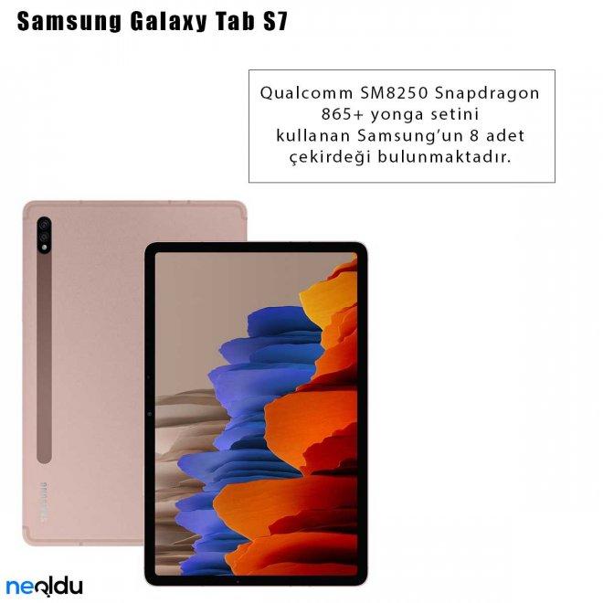 Samsung Galaxy Tab S7 İşlemci