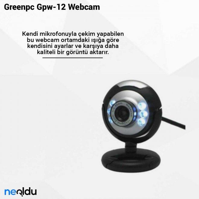 Greenpc Gpw-12 Webcam