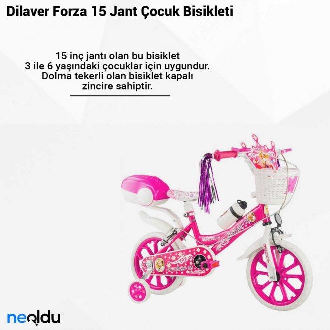 Dilaver Forza 15 Jant Çocuk Bisikleti