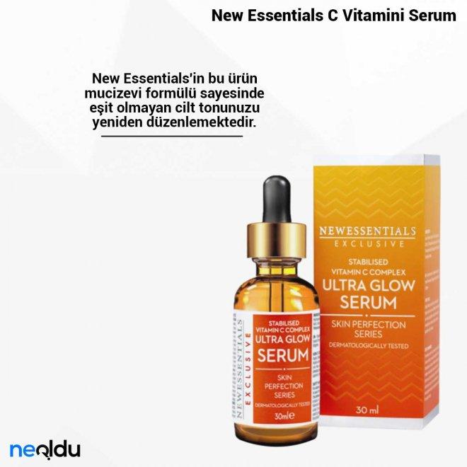 New Essentials C Vitamini Serum