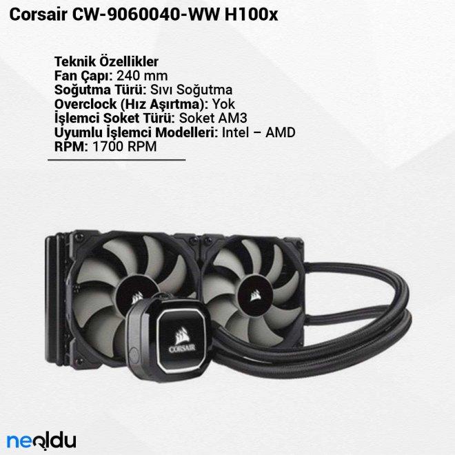 Corsair CW-9060040-WW H100x