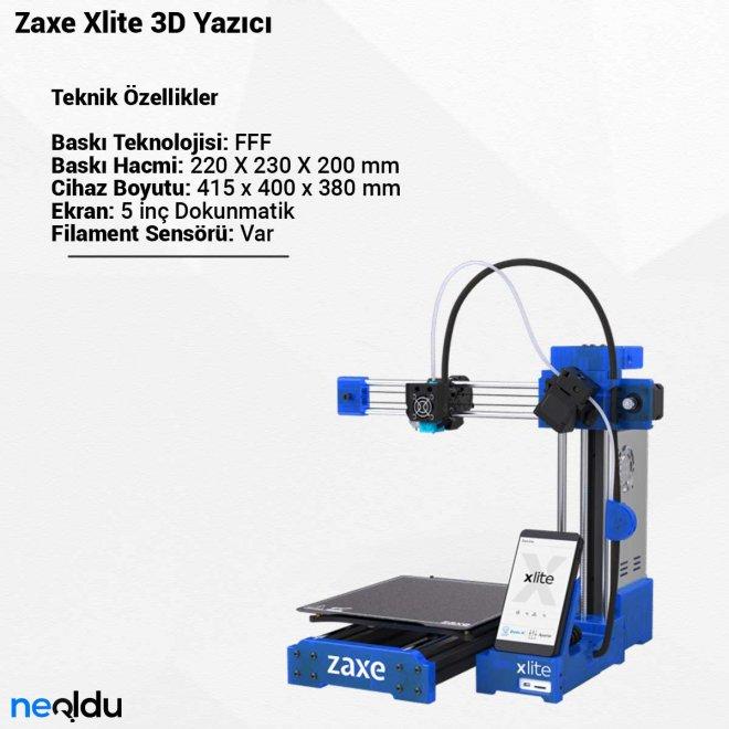 Zaxe Xlite3D Yazıcı
