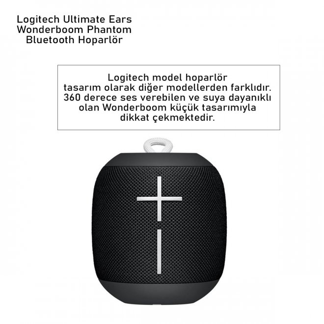 Logitech Ultimate Ears Wonderboom Phantom Bluetooth Hoparlör