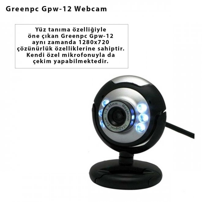 Greenpc Gpw-12 Webcam