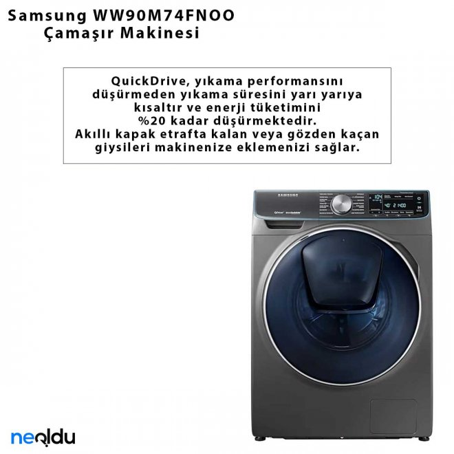 Samsung WW90M74FNOO Çamaşır Makinesi