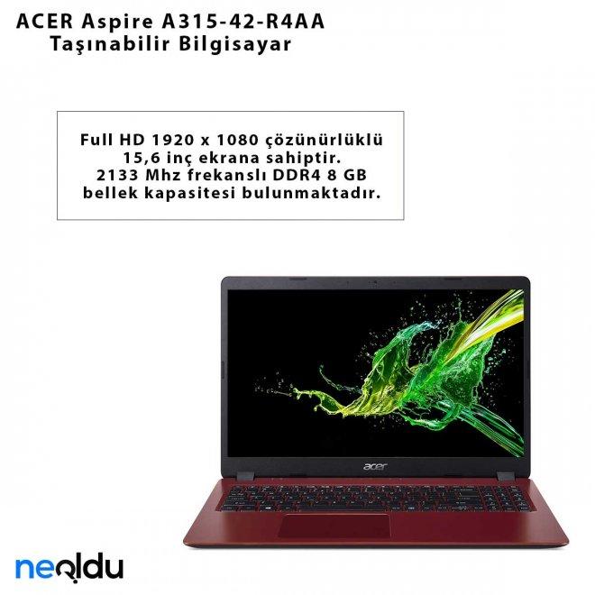 ACER Aspire A315-42-R4AA Taşınabilir Bilgisayar