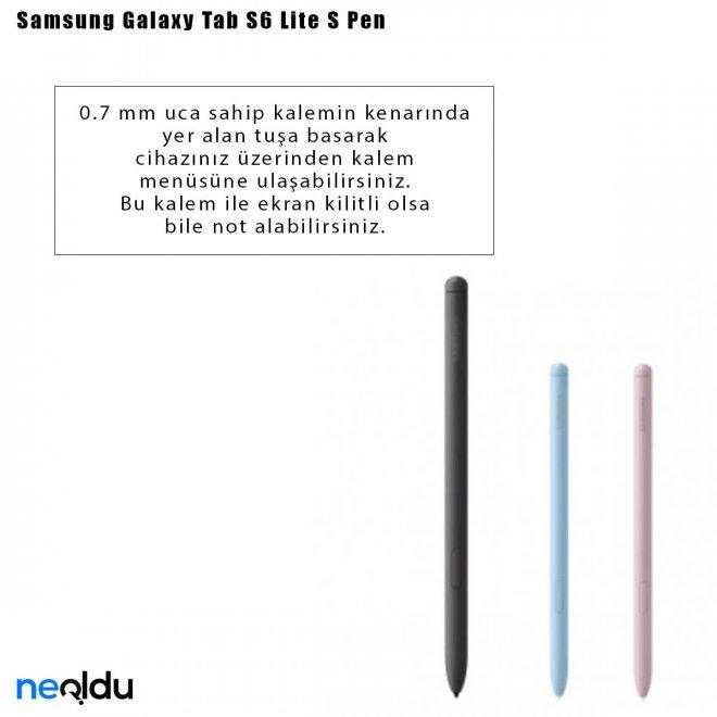 Samsung Galaxy Tab S6 Lite S Pen