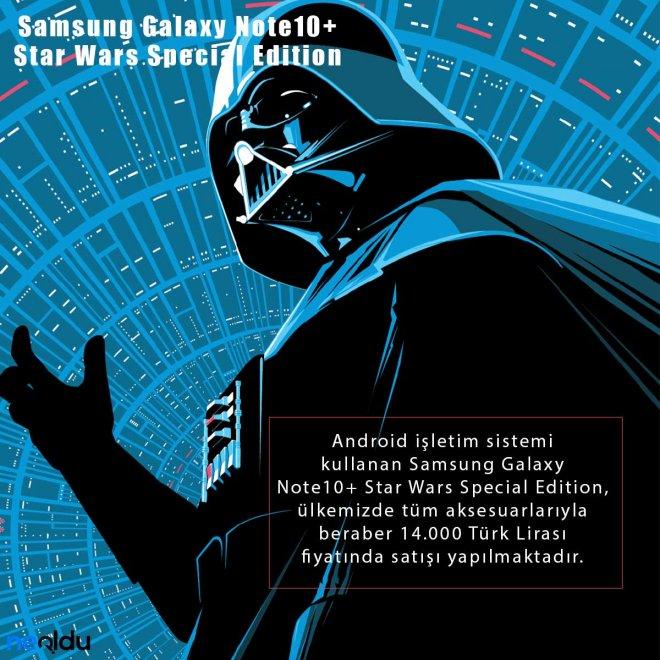 Samsung Galaxy Note10+ Star Wars fiyatı