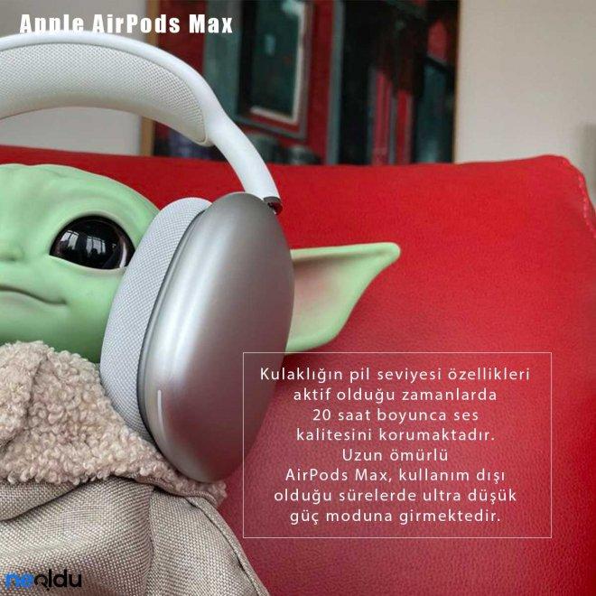 Apple AirPods Max Pil Gücü