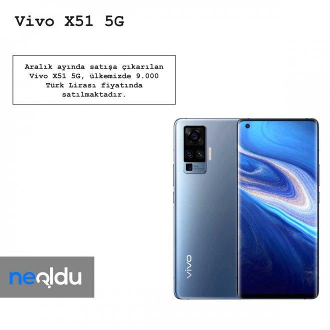 Vivo X51 5G fiyatı