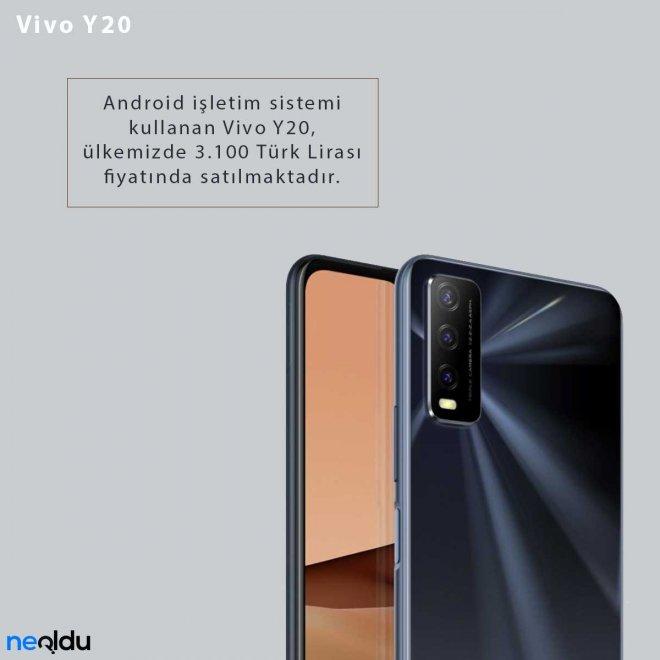 Vivo Y20 Fiyatı