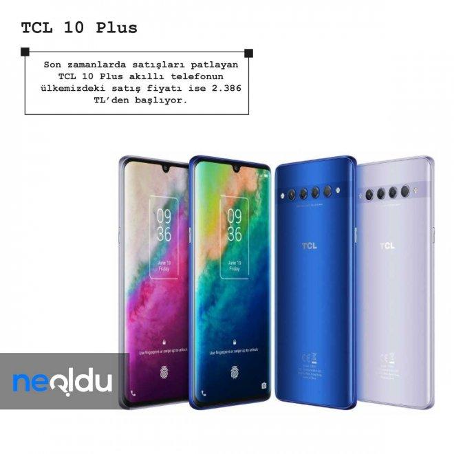 TCL 10 Plus fiyatı