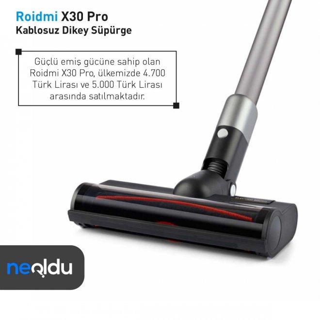 Roidmi X30 Pro fiyat