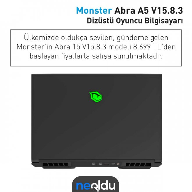 Monster Abra A5 fiyat
