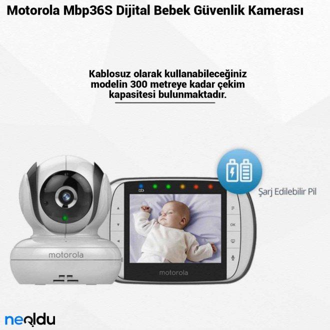 Motorola Mbp36S Dijital Bebek Güvenlik Kamerası
