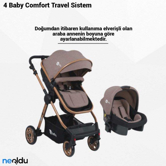 4 Baby Comfort Travel Sistem