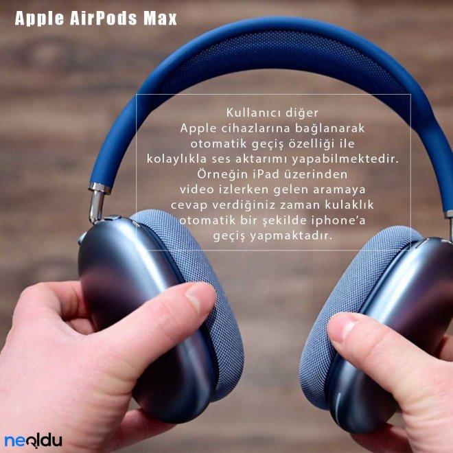 Apple AirPods Max Ses özellikleri