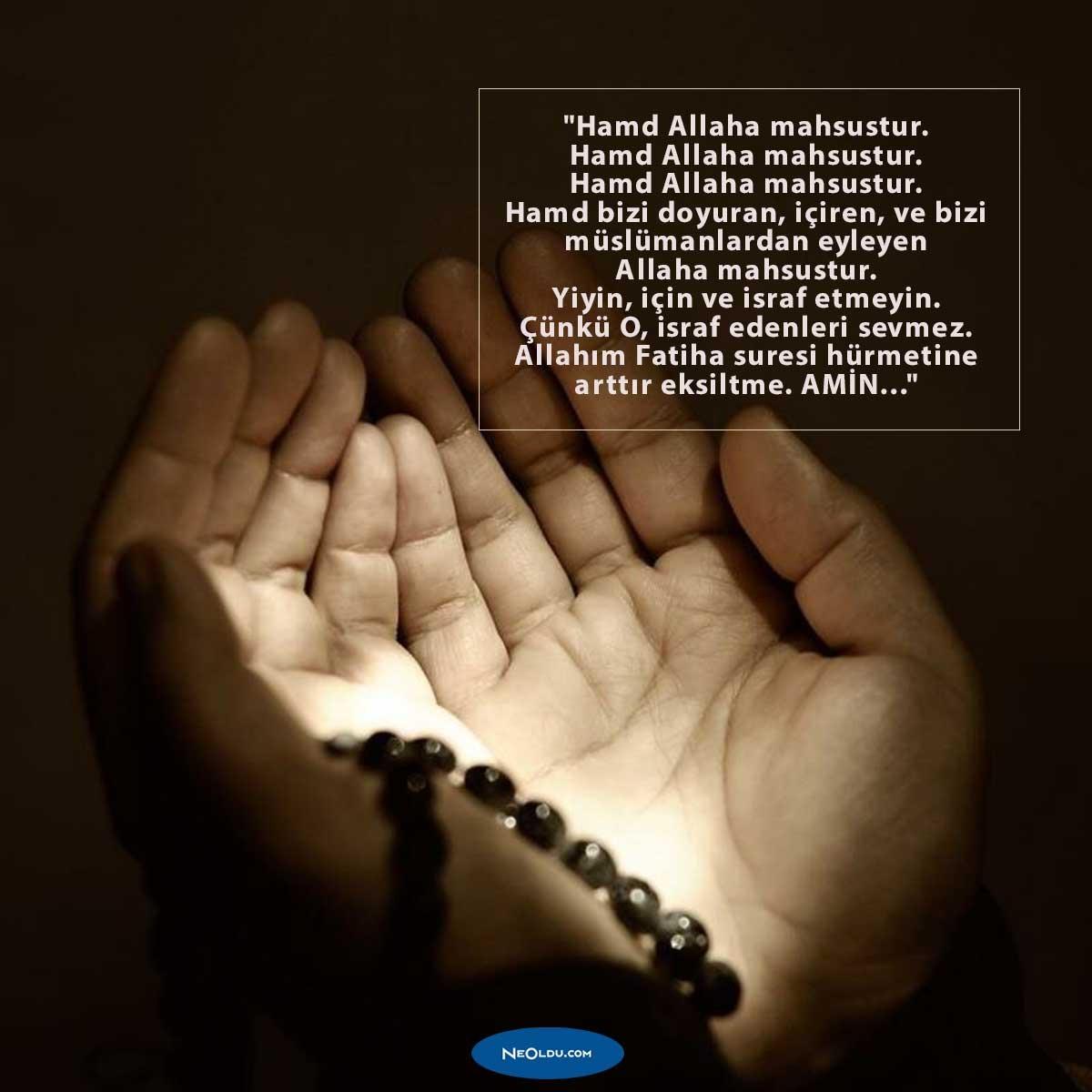İftarda Okunacak Dualar ve Anlamları