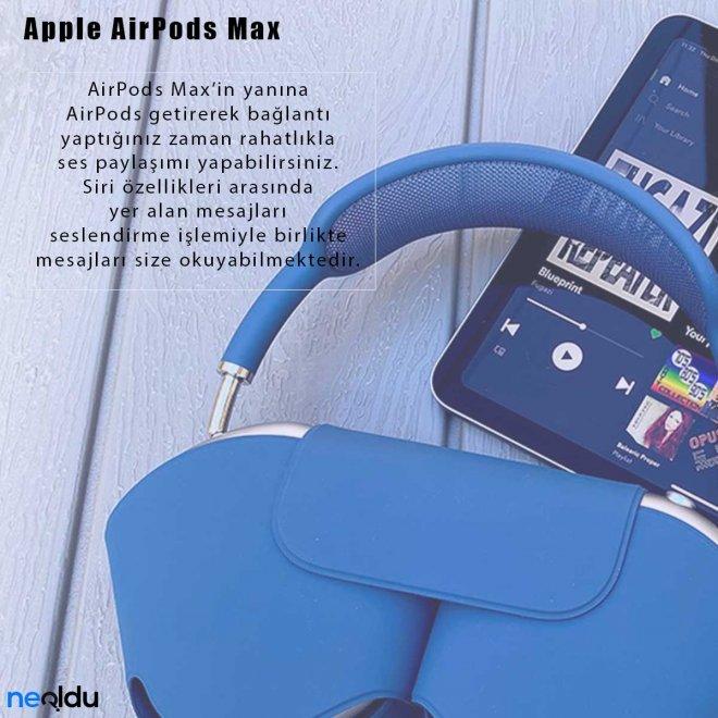 Apple AirPods Max Siri