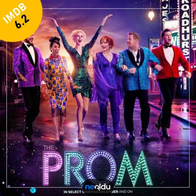 The Prom (2020) – IMDb: 6.2