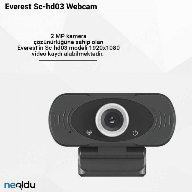 Everest Sc-hd03 Webcam