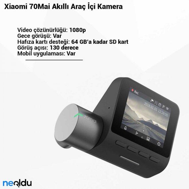 Xiaomi 70Mai Akıllı Araç İçi Kamera