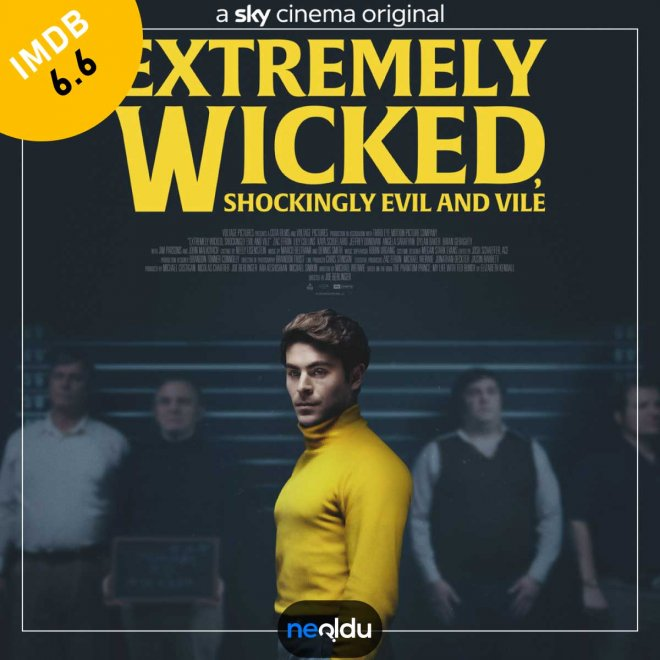 Extremely Wicked, Shockingly Evil and Vile (2019) – IMDb: 6.6