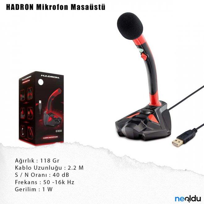 HADRON Mikrofon Masaüstü