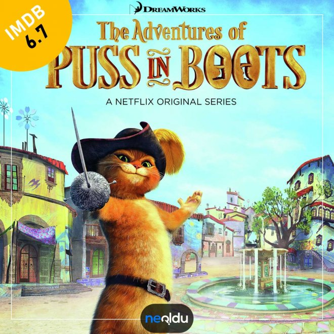 The Adventures Of Puss In Boots (2015-2018) – IMDb: 6.7