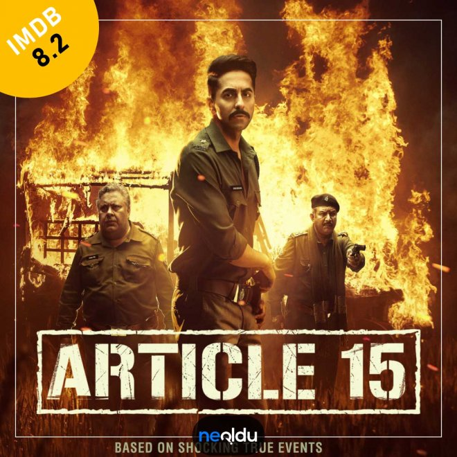 Article 15 (2019) – IMDb: 8.2
