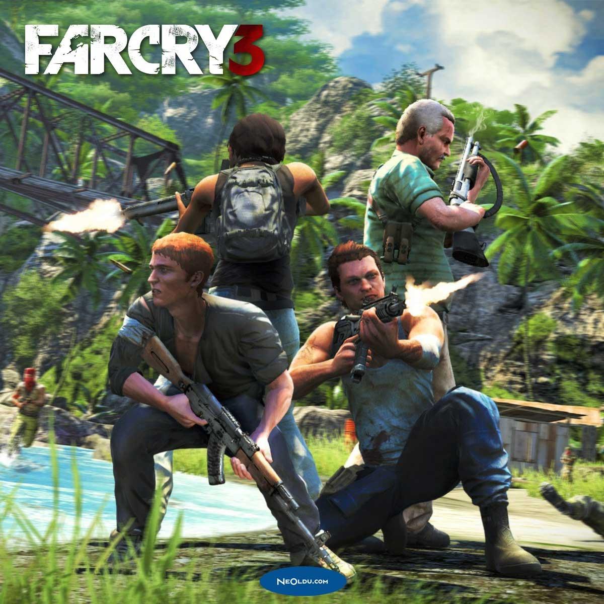 Far Cry 3 Hileleri ve Şifreleri