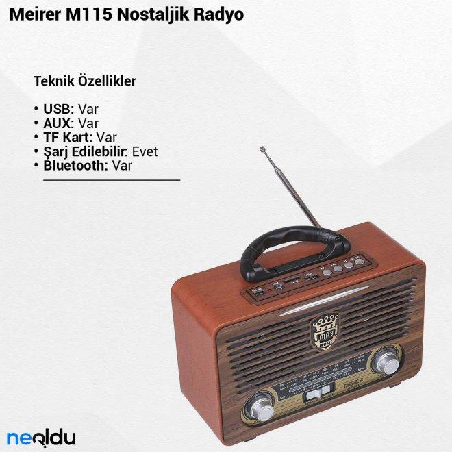 Meirer M115Nostaljik Radyo