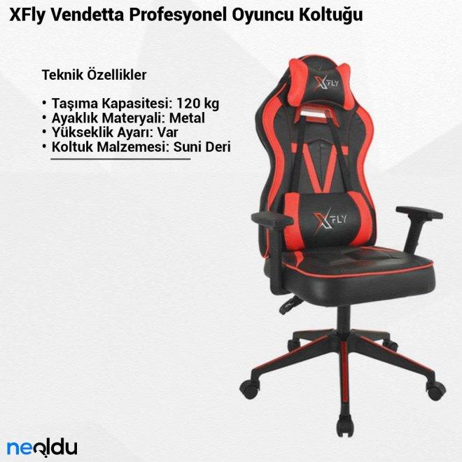 XFly Vendetta Profesyonel Oyuncu Koltuğu