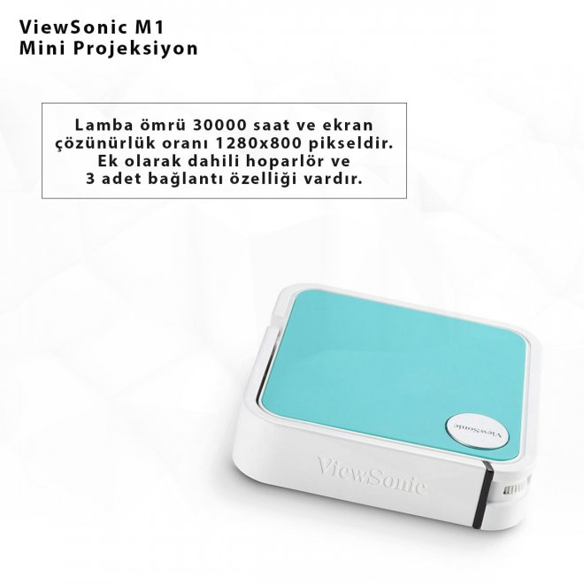 ViewSonic M1 Mini Projeksiyon