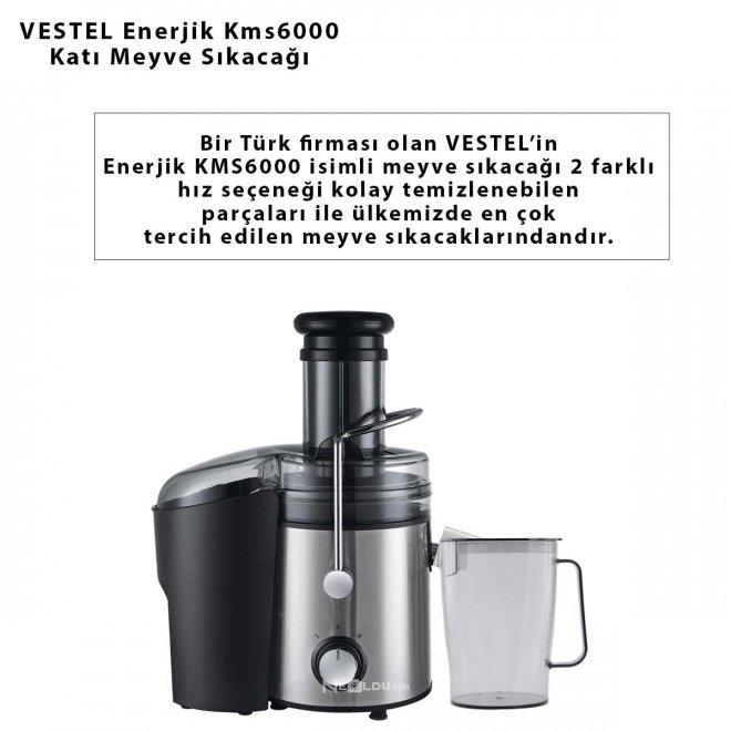 VESTEL Enerjik Kms6000 Katı Meyve Sıkacağı