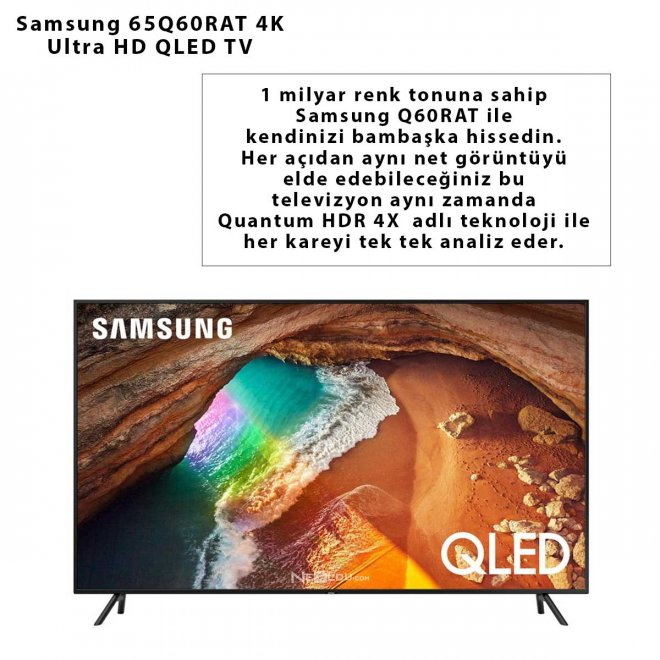 Samsung 65Q60RAT 4K Ultra HD QLED TV