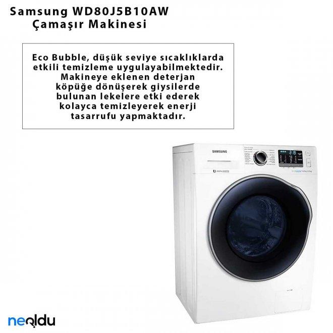 Samsung WD80J5B10AW Çamaşır Makinesi
