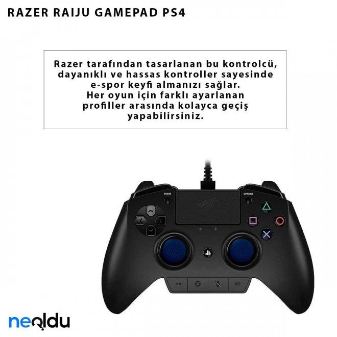 RAZER RAIJU GAMEPAD PS4