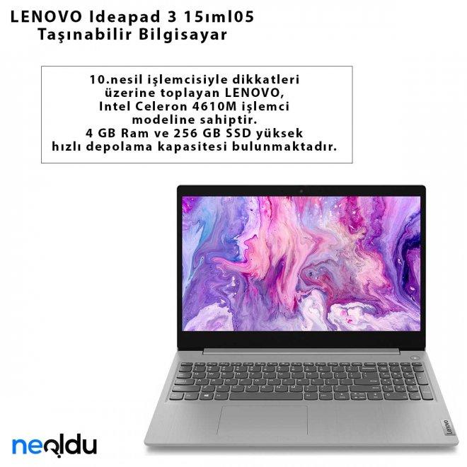 LENOVO Ideapad 3 15ıml05 Taşınabilir Bilgisayar