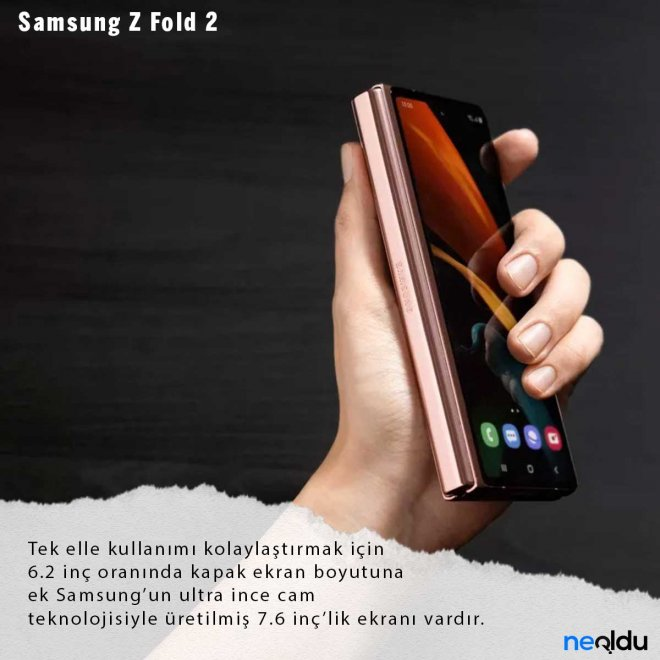 Samsung Galaxy Z Fold 2 Ekran Boyutu