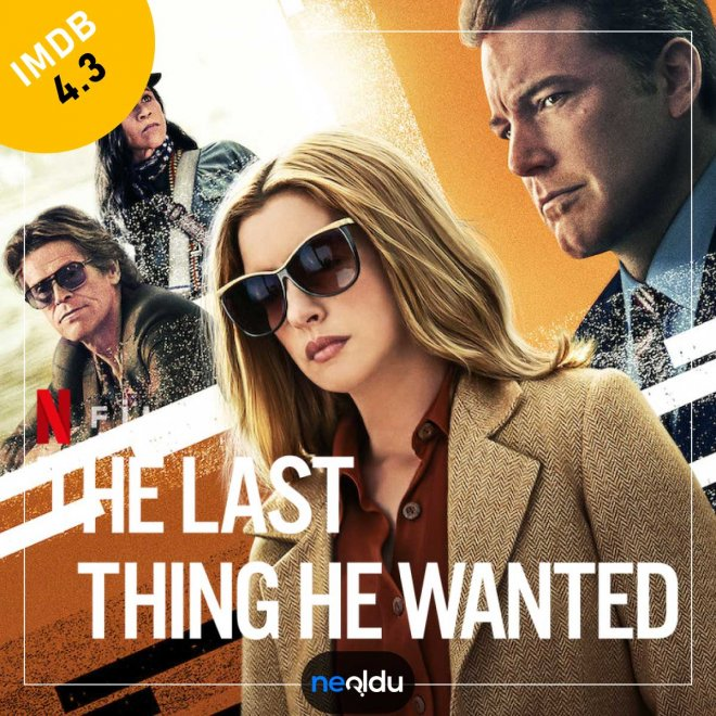 The Last Thing He Wanted (2020) – IMDb: 4.3