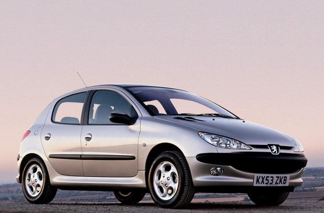 20 Bin TL Altına Alınabilecek Arabalar Peugeot 206