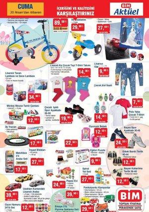 20 nisan bim aktüel ürünler kataloğu kampanyalı ürünler