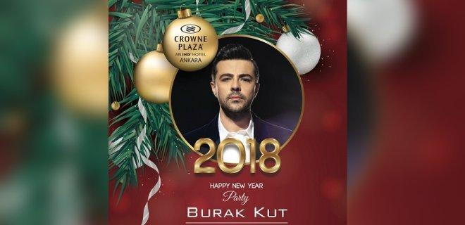 2018 YılbaşıCrowne Plaza Ankara Burak Kut Konseri