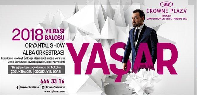 2018 Yılbaşı Crowne Plaza Bursa Yaşar Konseri