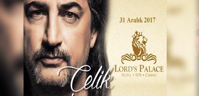 2018 Yılbaşı Kıbrıs Lord's Palace Hotel Çelik Konseri