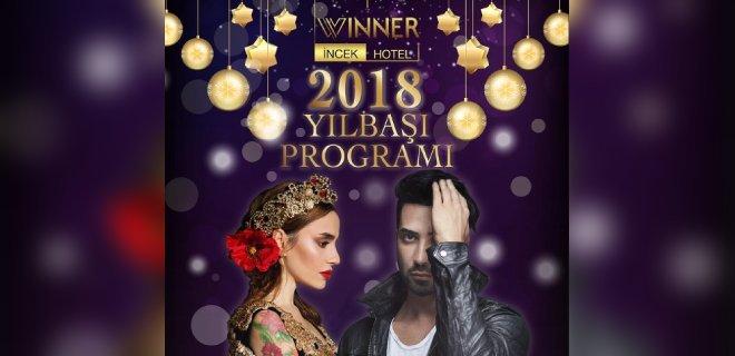 2018 Yılbaşı Ankara Winner İncek Hotel Tan Taşçı Konseri